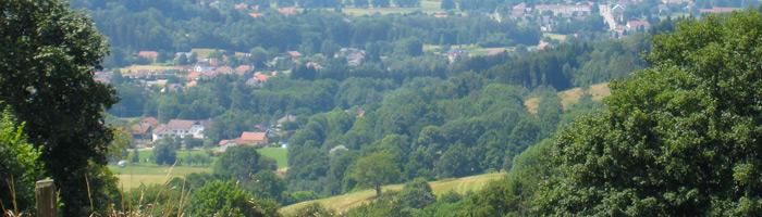 Vue sur Ban-sur-Meurthe-Clefcy